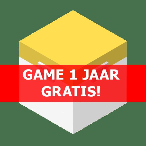 Game 1 jaar gratis